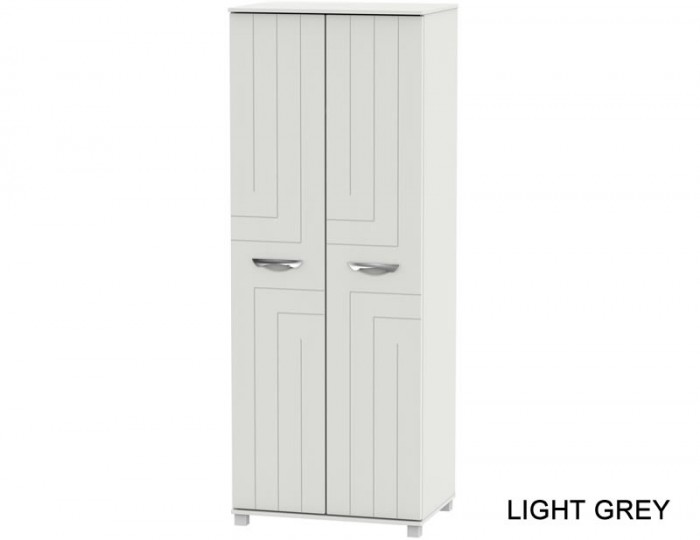 Somerset Tall 2 Door Plain Wardrobe
