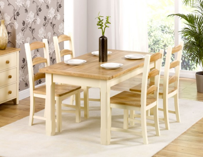 Albans Pine Dining Table and Chairs