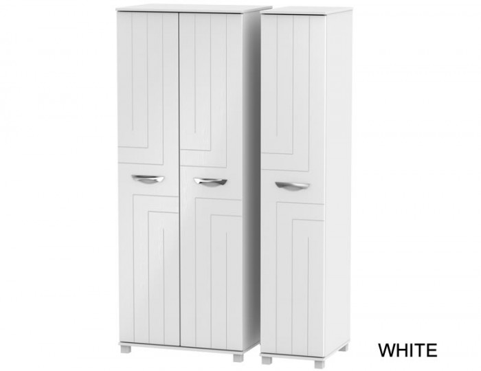 Somerset Tall 3 Door Plain Wardrobe