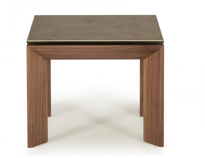 Serafina Walnut Lamp Table