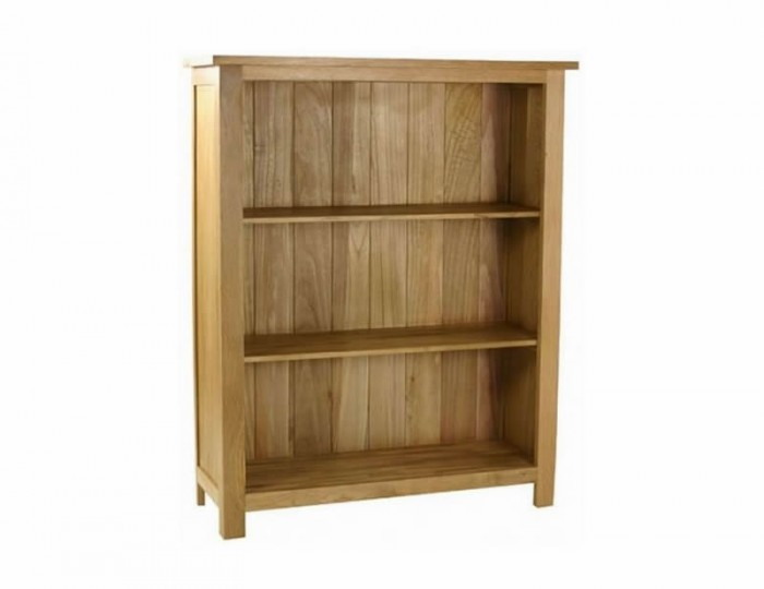 Turner Oak Low Bookcase *Special Offer*
