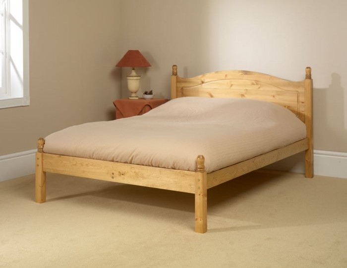 Orlando 4ft 6 Natural Pine Low Footend Bed Frame *Special Offer*