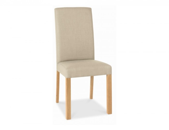 Parker Oak And Stone Upholstered Dining Chairs *Special Offer*