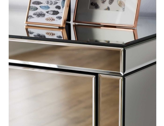 Giralda Mirrored 4 Drawer Chest