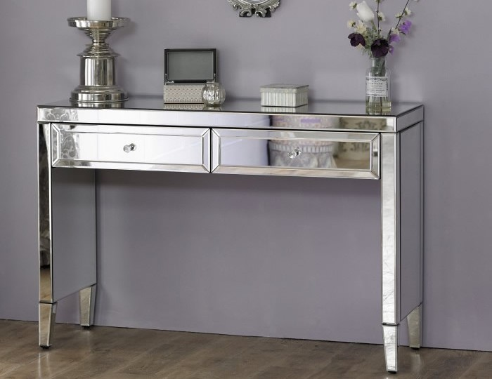Valencia Mirrored Dressing Table
