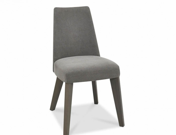 Cadell Oak And Smoke Grey Upholstered Dining Chair Set *Special Offer*