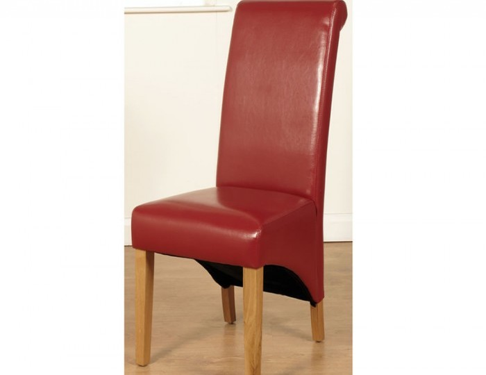 Nico Red Faux Leather Dining Chair *Special Offer*