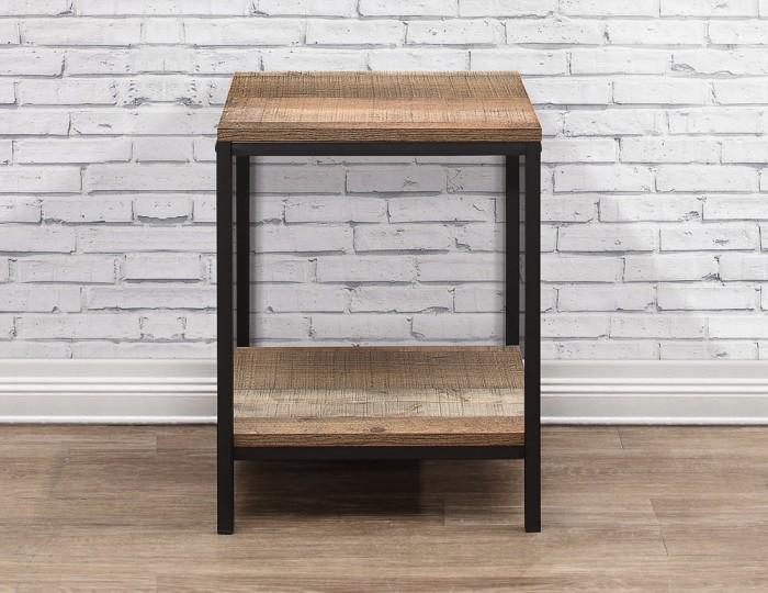Ashvale Urban Wooden Lamp Table