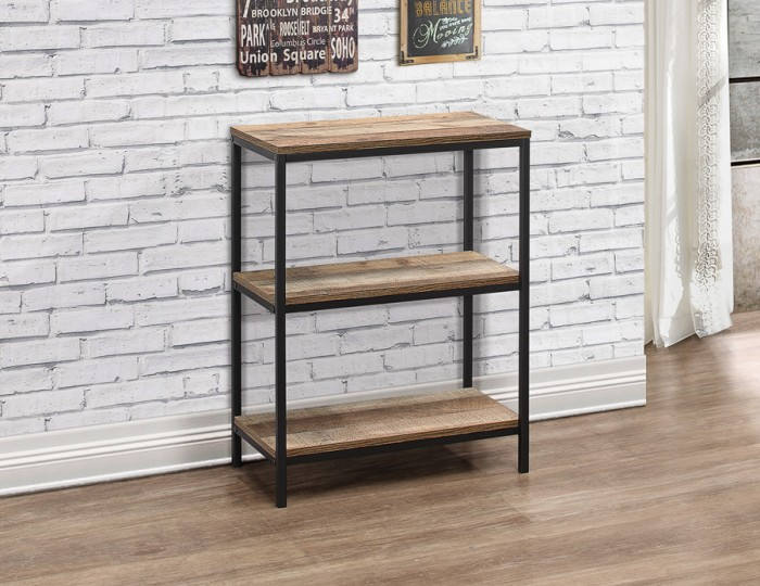 Ashvale Urban Wooden 3 Tier Bookcase