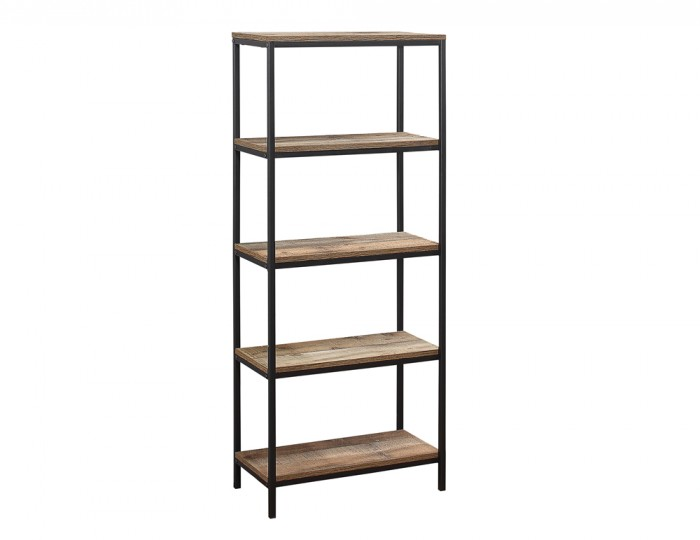 Ashvale Urban Wooden 5 Tier Bookcase