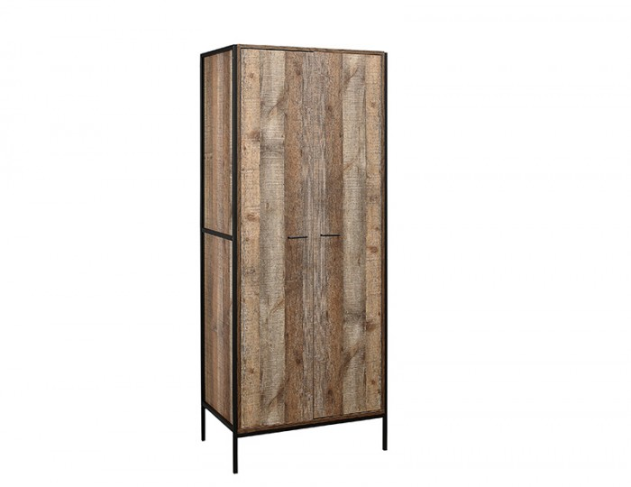 Ashvale Urban Wooden 2 Door Wardrobe