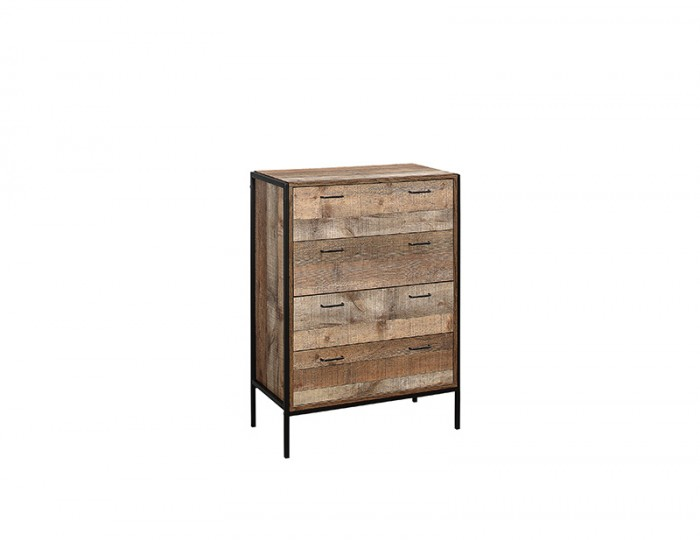 Ashvale Urban Wooden 4 Drawer Chest