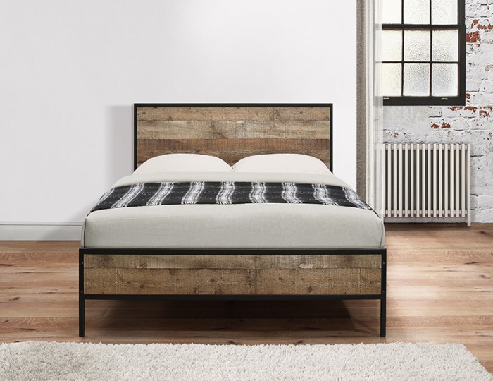Ashvale Urban Wooden Bed Frame