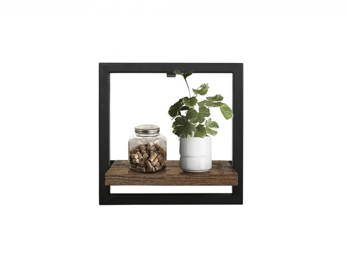 Ashvale Urban Wooden Floating Shelf