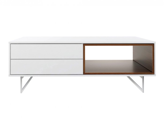 Exlade White Coffee Table