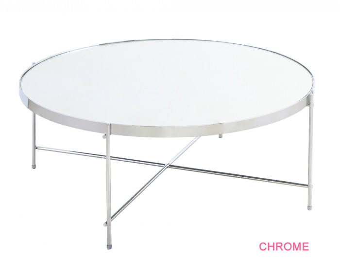 Oakmore Glass Circular Coffee Table