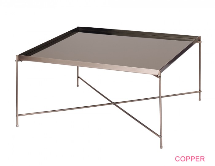 Oakmore Glass Square Coffee Table