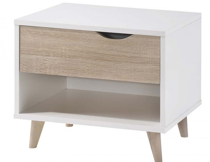 Stocker 1 Drawer Bedside Cabinet