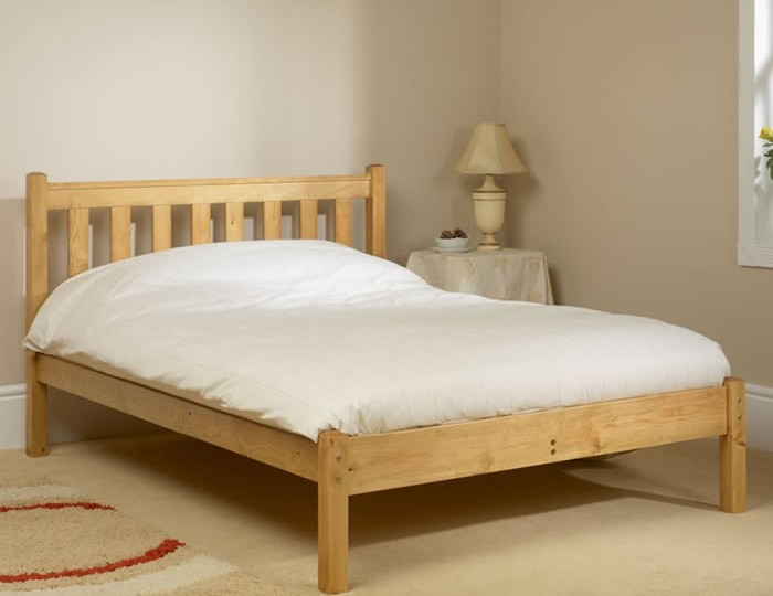 Shaker 4ft 6 Antique Pine Low Footend Bed Frame *Special Offer*