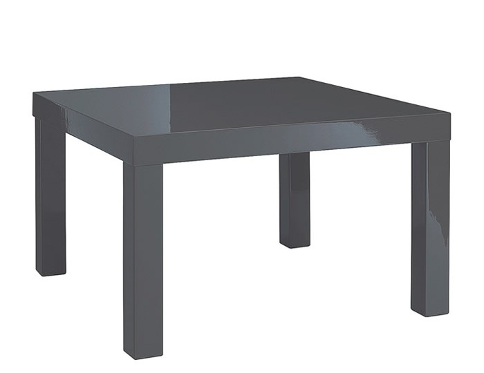 Puro Charcoal High Gloss Kitchen Table