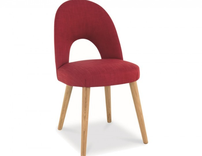 Orbit postbox red upholstered dining chairs special offer for Red upholstered dining chair