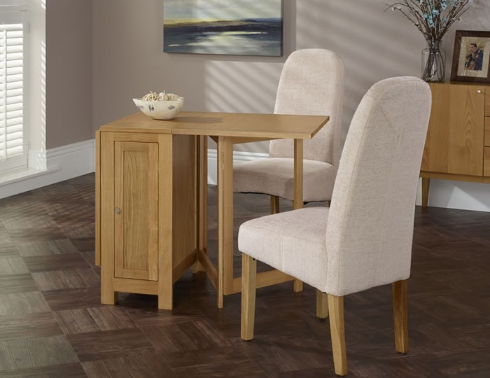 Hounslow Oak Gateleg Dining Table and Chairs