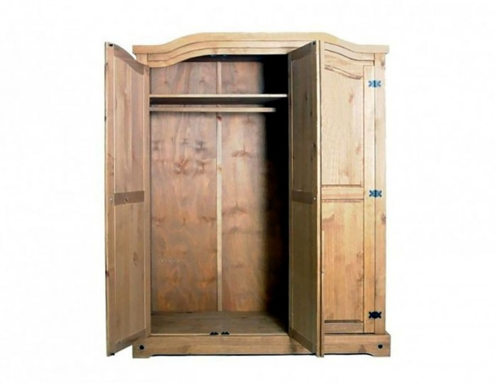 Desperados 3 Door Pine Wardrobe