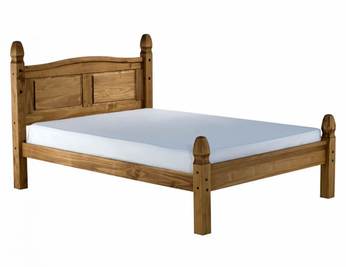 Desperados Pine High Foot End Bed
