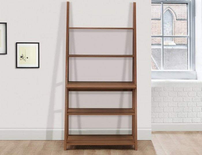 Nordic Walnut Ladder Desk