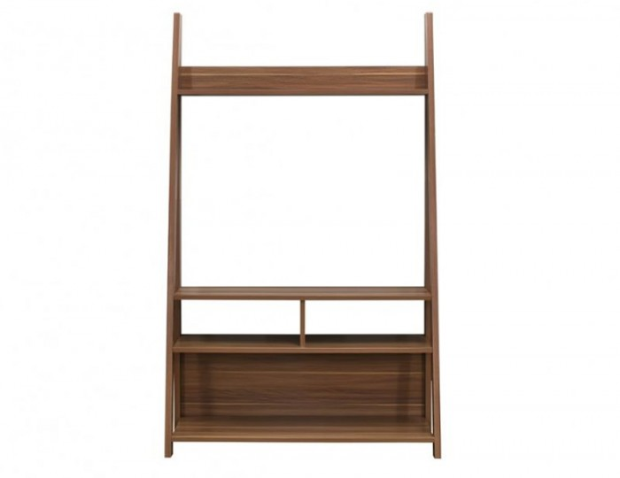 Nordic Walnut Tall TV Unit