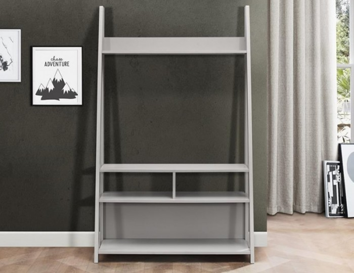 Nordic Grey Tall TV Unit