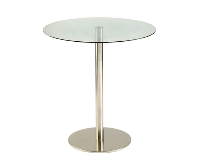 Zamora 90cm Round Glass Bar Table *Special Offer*
