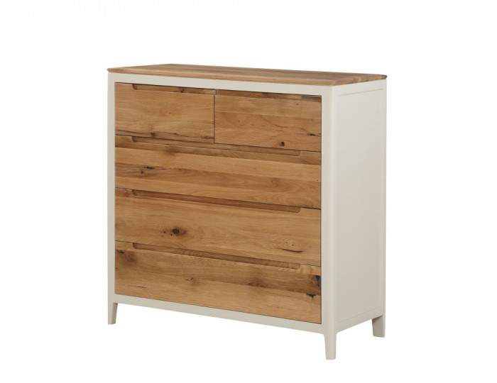 Dunmore Spanish White And Oak 23 Drawer Chest