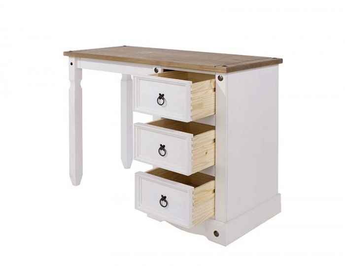 Estrella Single White Dressing Table