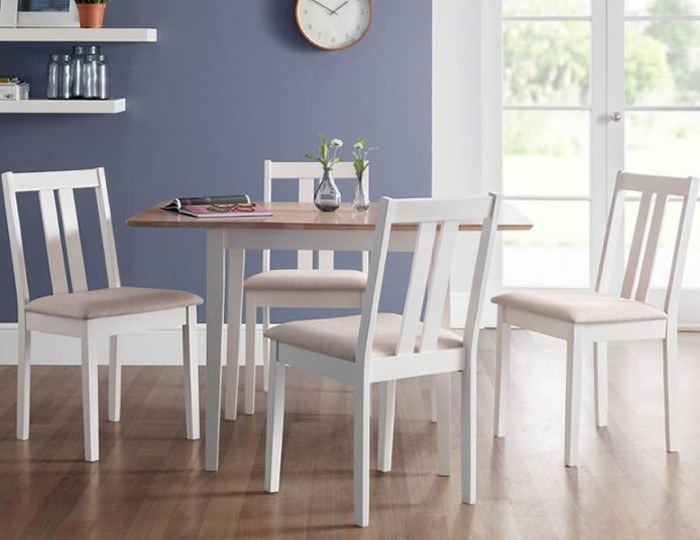 Rufford Ivory Extending Dining Set