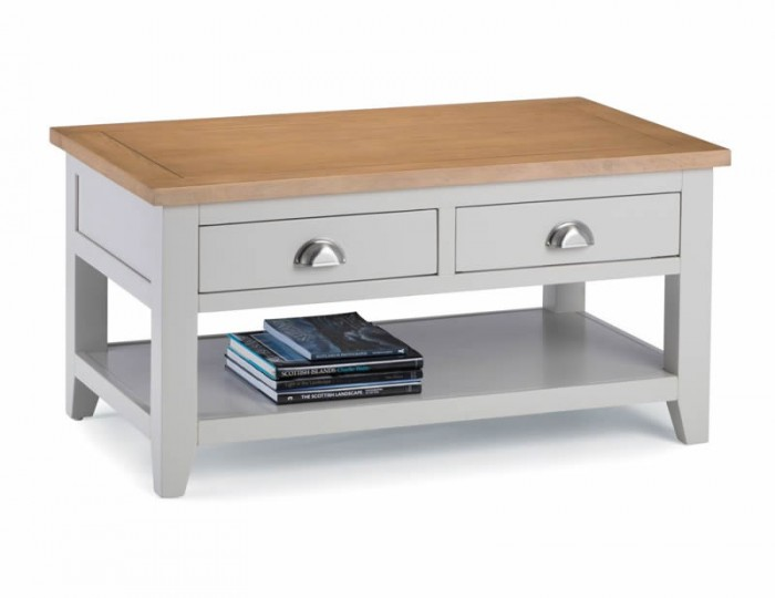 Vineyard Grey Two-Tone Coffee Table