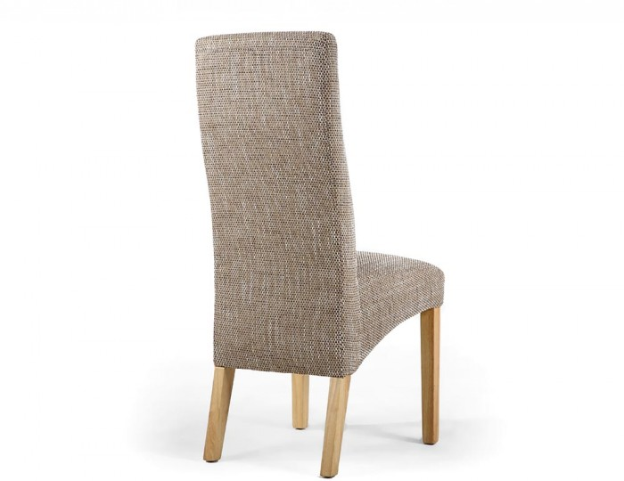Aden Upholstered Tweed Dining Chair