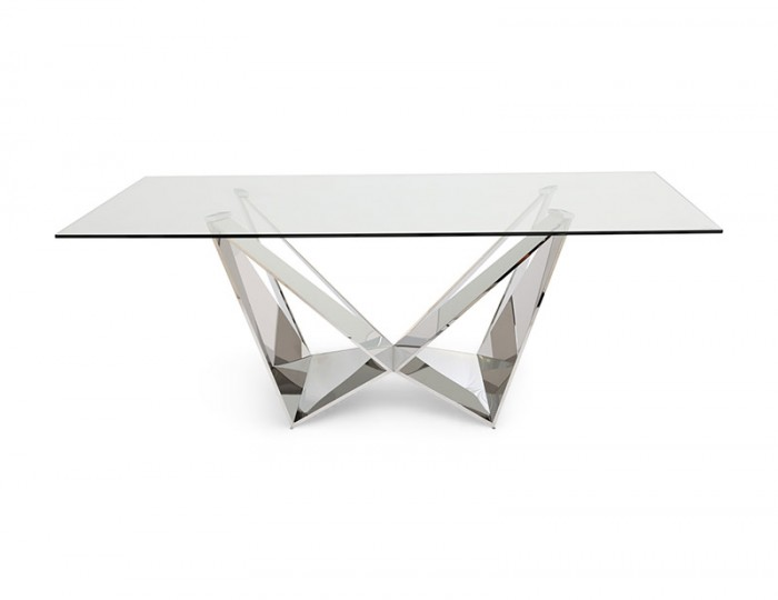 Allure Glass Dining Table