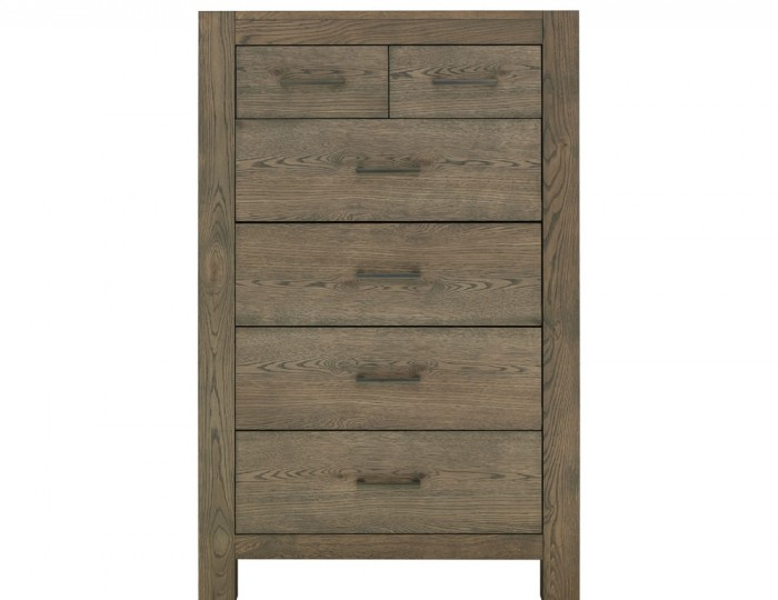 Ventura Dark Oak 4+2 Drawer Tall Chest