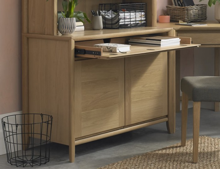Bergen Oak Narrow Sideboard