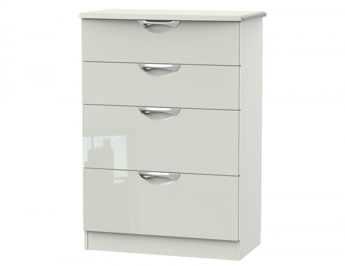 Halifax Kaschmir Gloss 4 Drawer Deep Chest