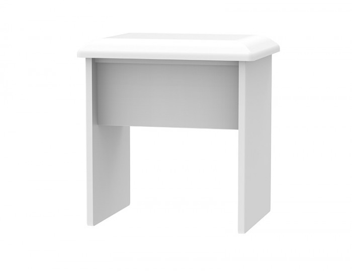 Halifax White High Gloss Double Dressing Table