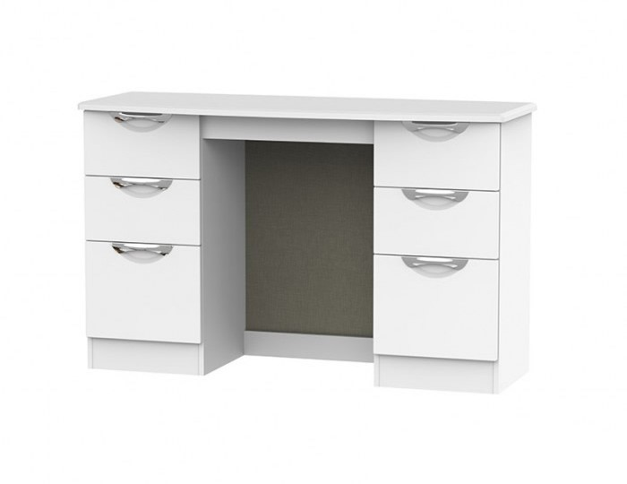Halifax White Matt Double Dressing Table