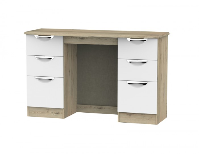 Halifax Grey Bordeaux Double Dressing Table