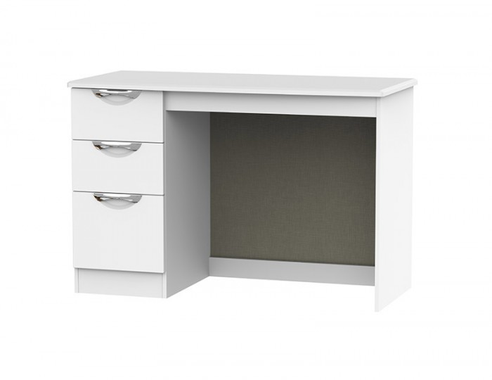 Halifax White Matt Single Desk