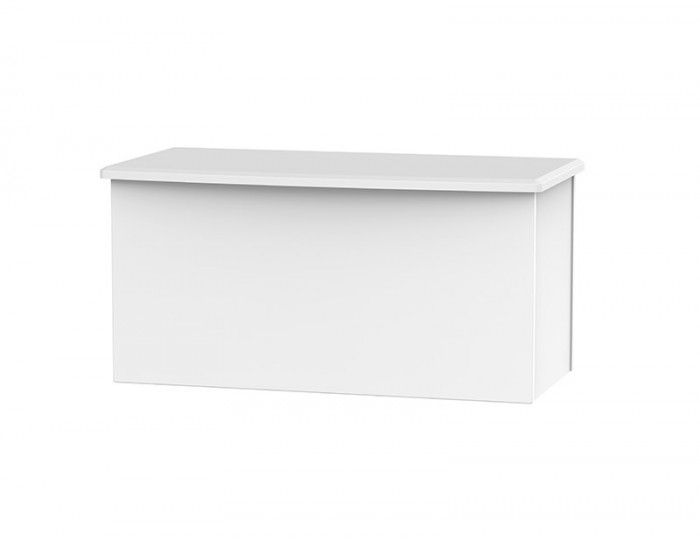 Halifax White Matt Blanket Box