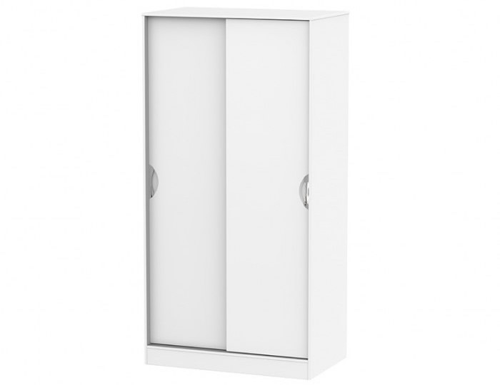 Halifax White Matt Sliding Door Wardrobe
