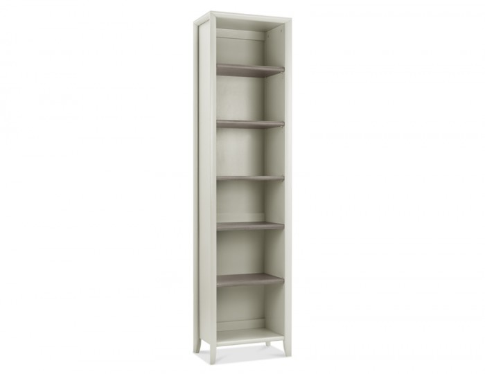 Bergen Oak & Soft Grey Bookcase