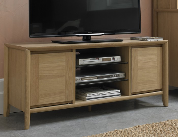 Bergen Oak Entertainment Unit