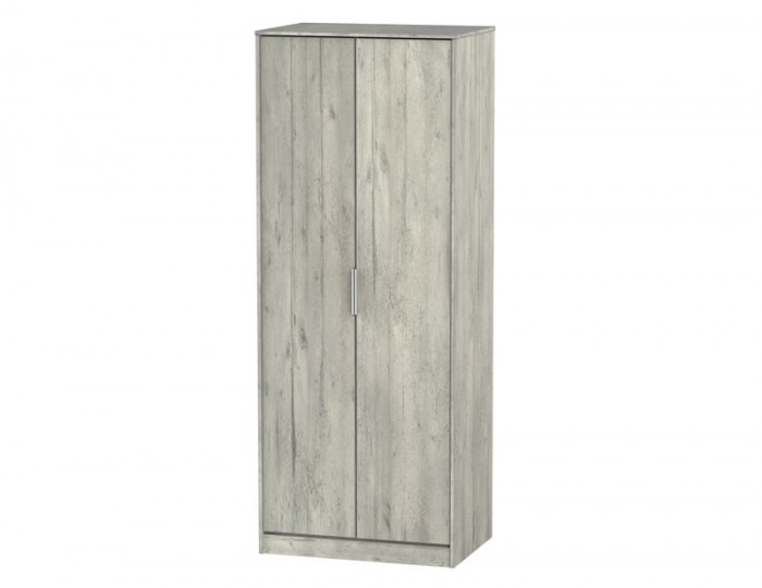 Carlos Concrete 2 Door Wardrobe